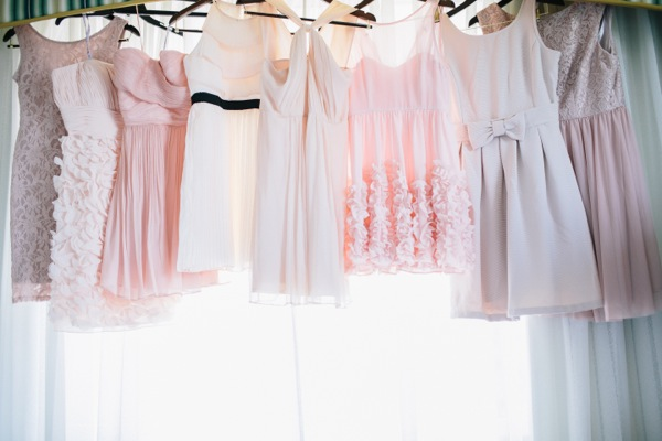 all of the bridesmaid dresses