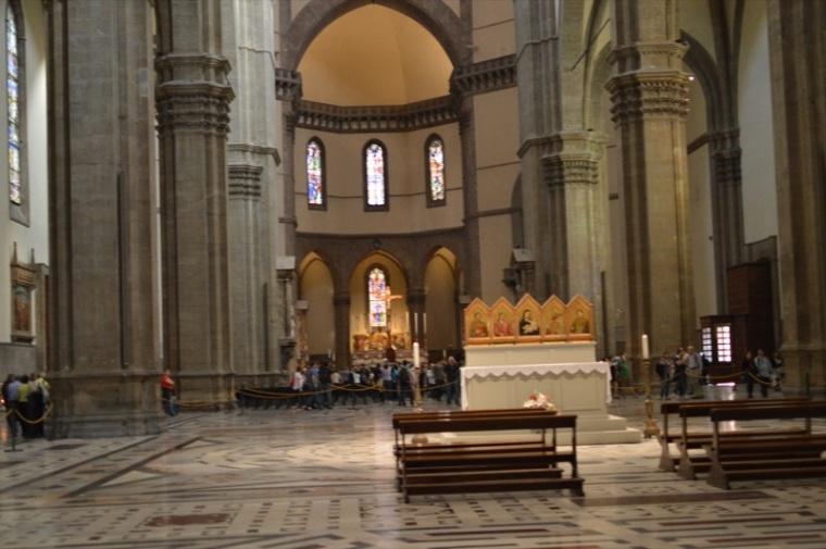 Basilica di Santa Maria del Fiore Duomo di Firenze Florence Cathedral inside 1
