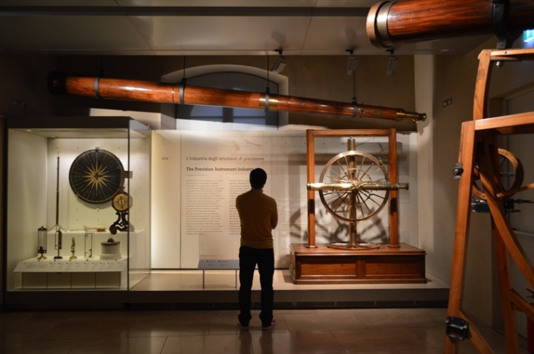 Museo Galileo - measuring instruments