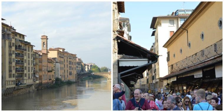 Florence Ponte Vecchio collage
